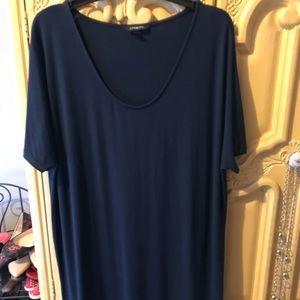 Land's End T-Shirt Dress XL 14-16